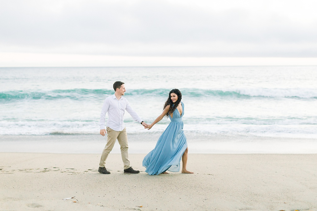 Malibu Cliff Side Engagement Session at Point Dume by Madison Ellis Photography (10)