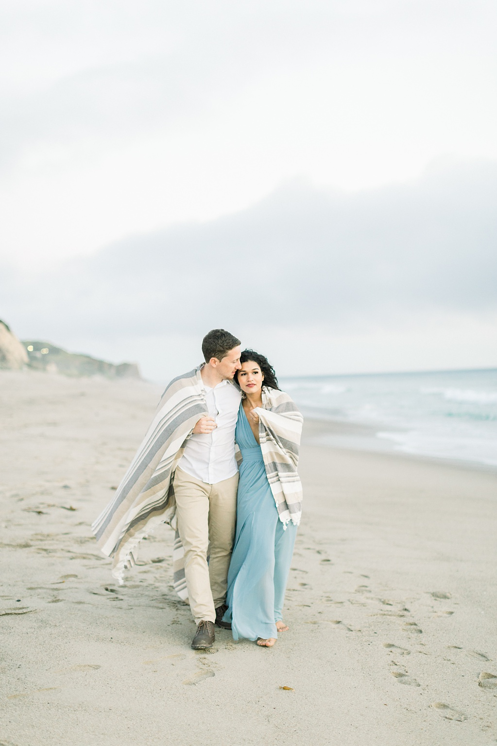 Malibu Cliff Side Engagement Session at Point Dume by Madison Ellis Photography (8)