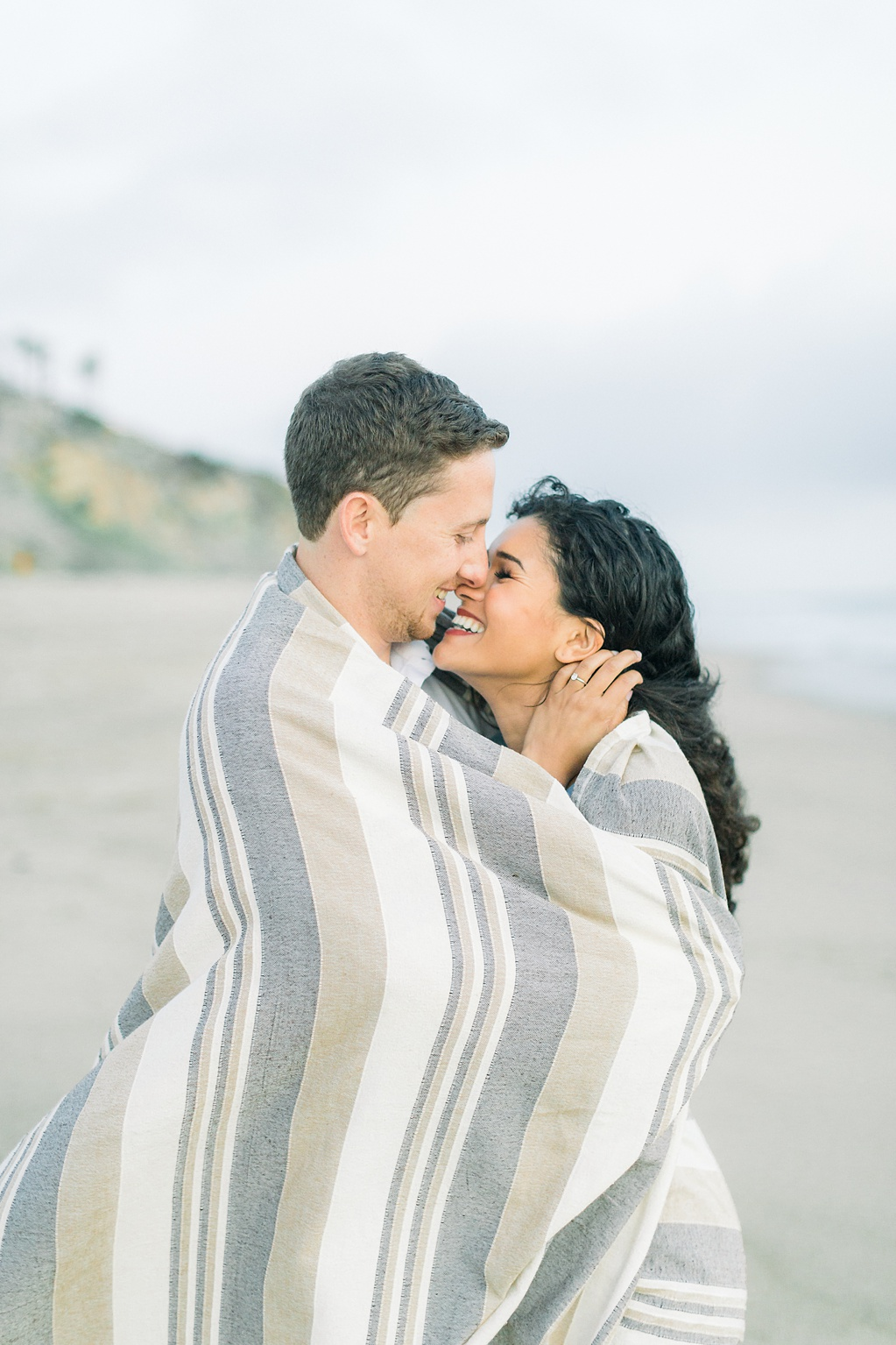Malibu Cliff Side Engagement Session at Point Dume by Madison Ellis Photography (7)
