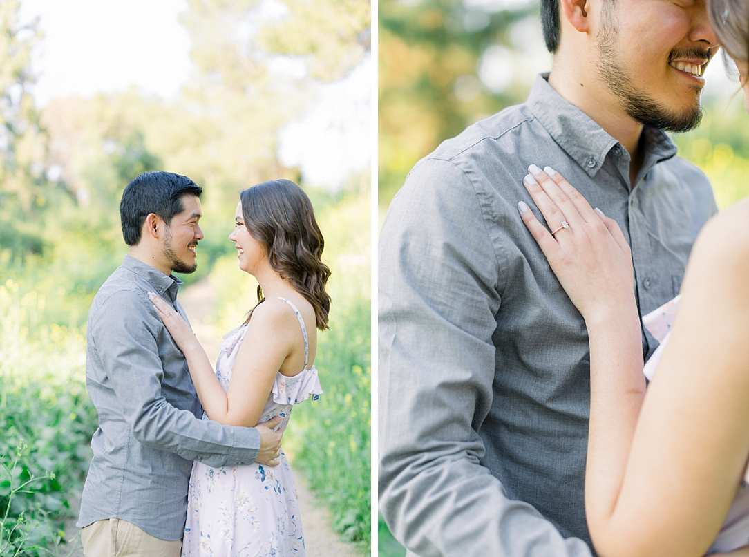 Spring wildflowers engagement session at Bonelli Park by Madison Ellis Photography (31)