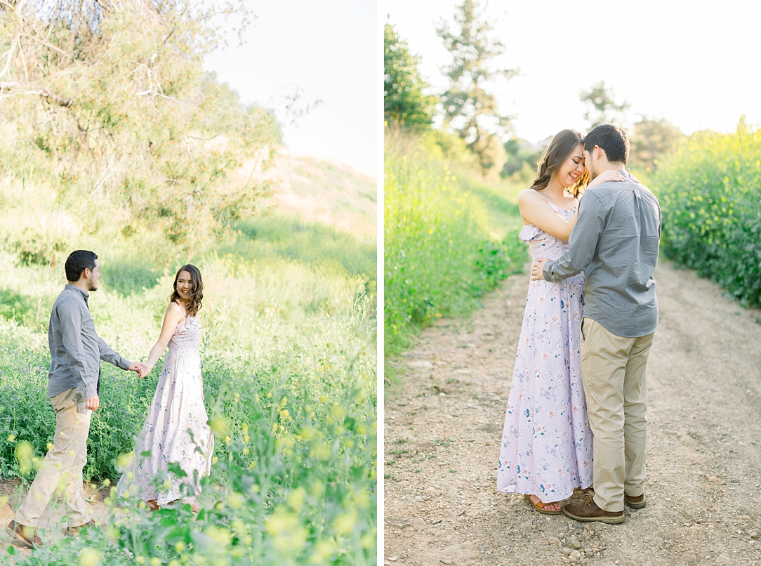 Spring wildflowers engagement session at Bonelli Park by Madison Ellis Photography (29)