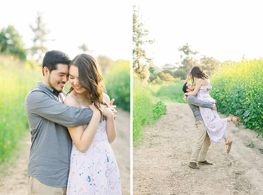 Spring wildflowers engagement session at Bonelli Park by Madison Ellis Photography (28)