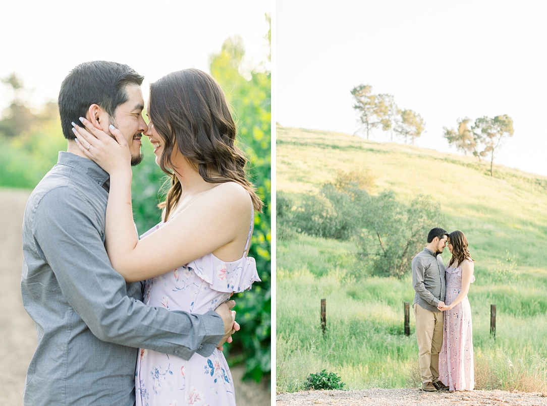 Spring wildflowers engagement session at Bonelli Park by Madison Ellis Photography (25)
