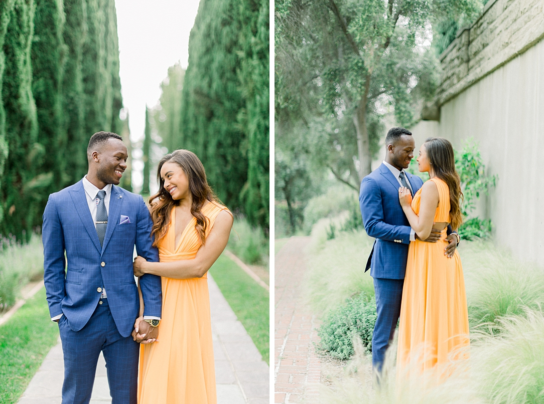 Glamourous European engagement photos at Greystone Mansion by Madison Ellis Photography (25)