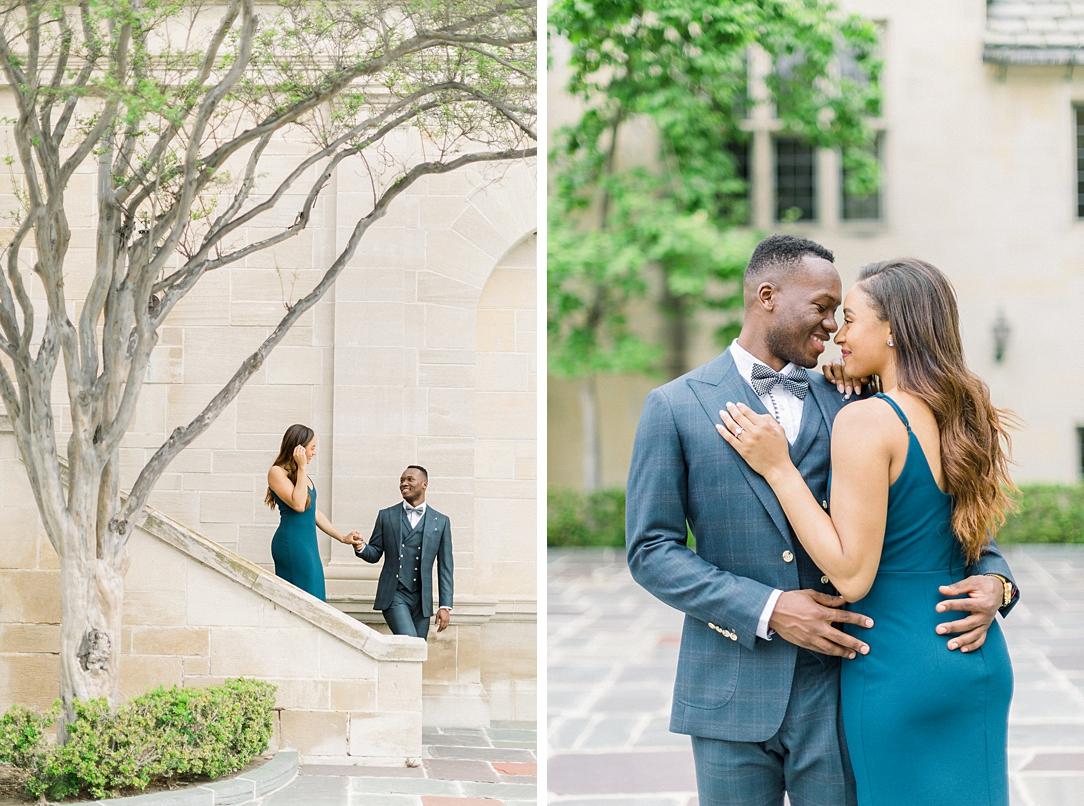 Glamourous European engagement photos at Greystone Mansion by Madison Ellis Photography (23)