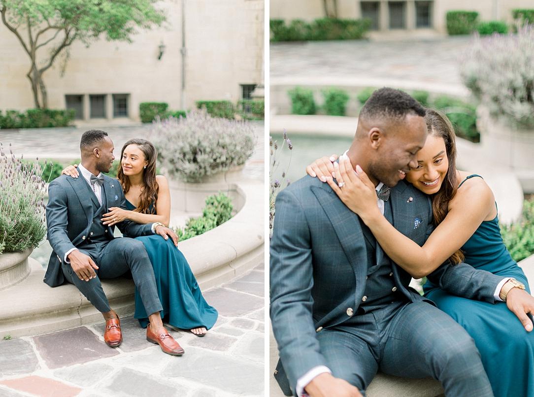 Glamourous European engagement photos at Greystone Mansion by Madison Ellis Photography (22)
