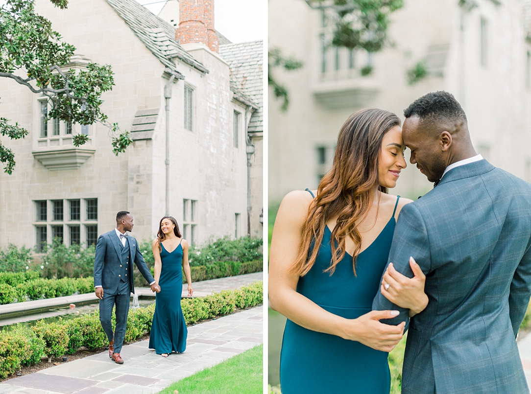 Glamourous European engagement photos at Greystone Mansion by Madison Ellis Photography (21)