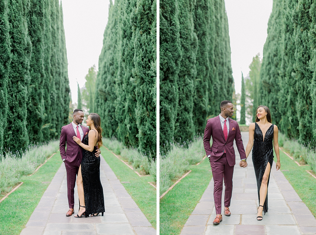 Glamourous European engagement photos at Greystone Mansion by Madison Ellis Photography (16)