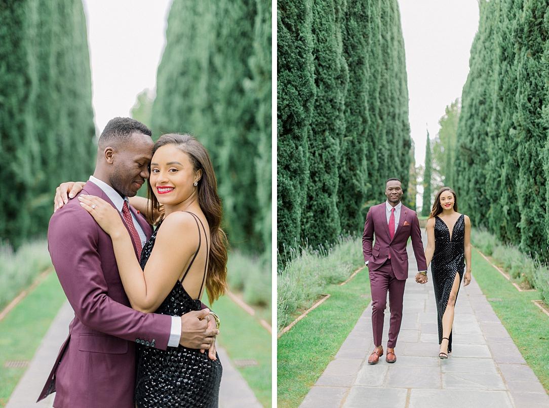 Glamourous European engagement photos at Greystone Mansion by Madison Ellis Photography (14)