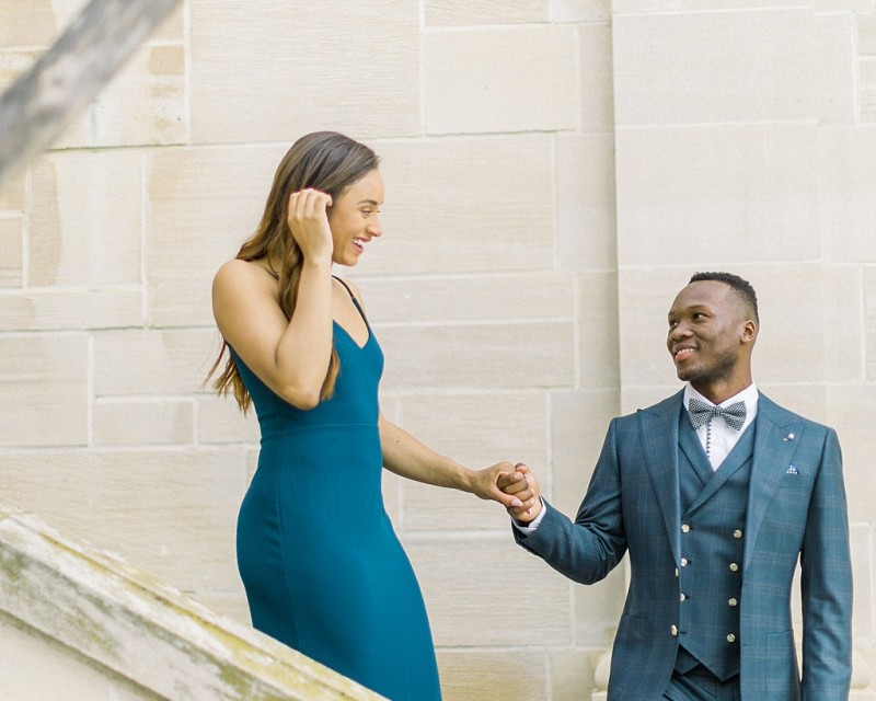 Glamorous European engagement photos at Greystone Mansion by Madison Ellis Photography (6)