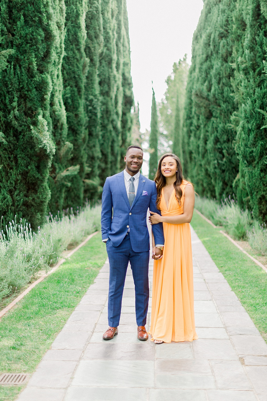 Glamourous European engagement photos at Greystone Mansion by Madison Ellis Photography (1)