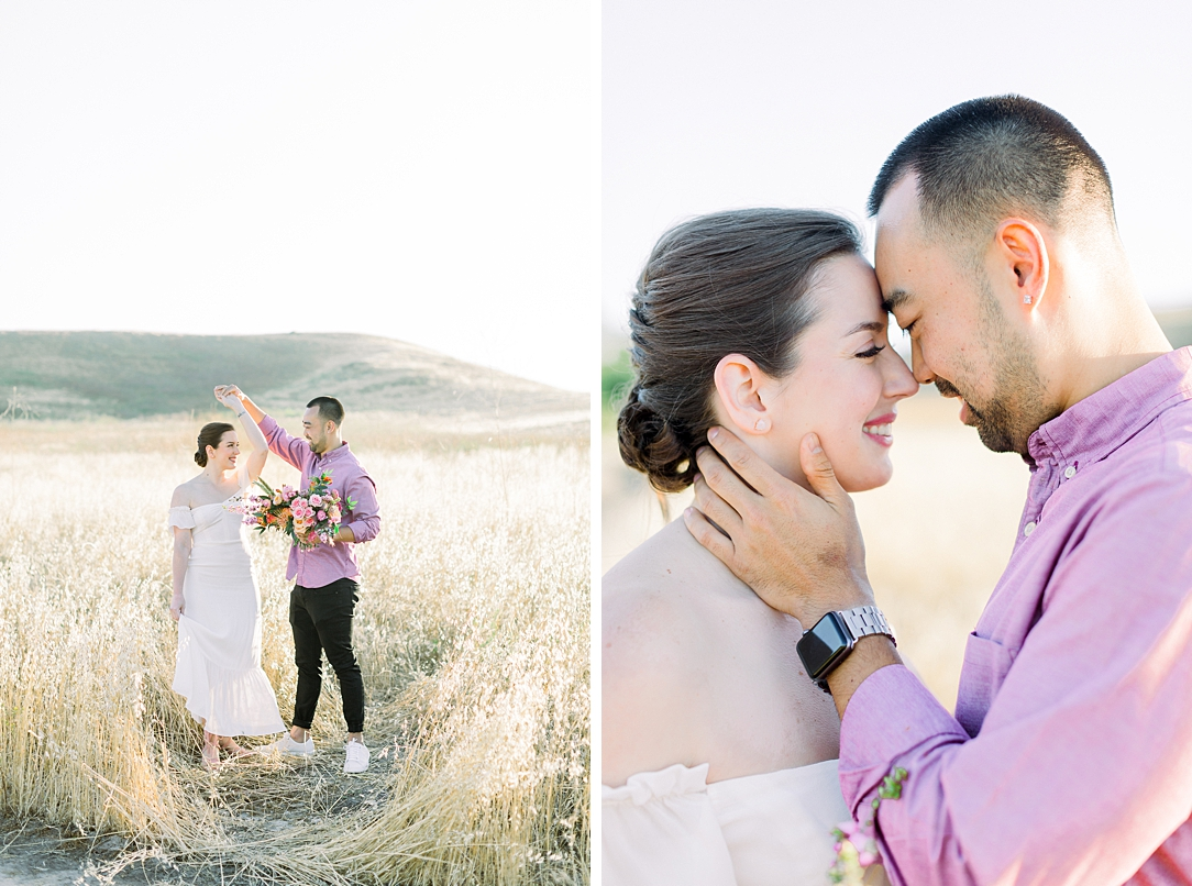Rustic boho engagement session in Irvine California by Madison Ellis Photography (29)