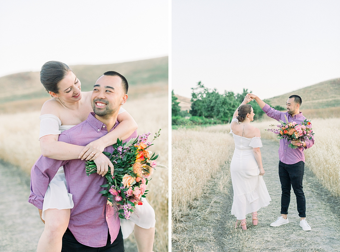 Rustic boho engagement session in Irvine California by Madison Ellis Photography (23)