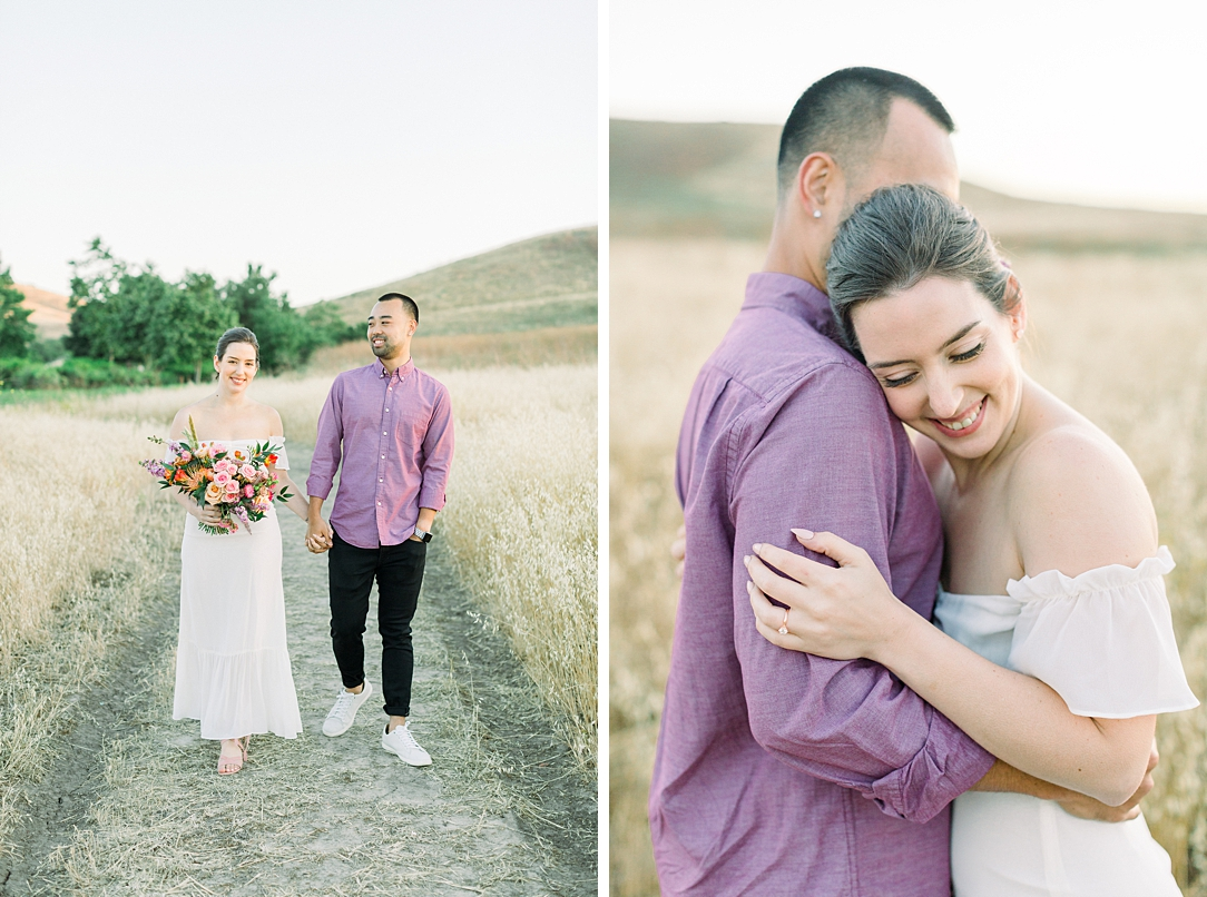 Rustic boho engagement session in Irvine California by Madison Ellis Photography (20)
