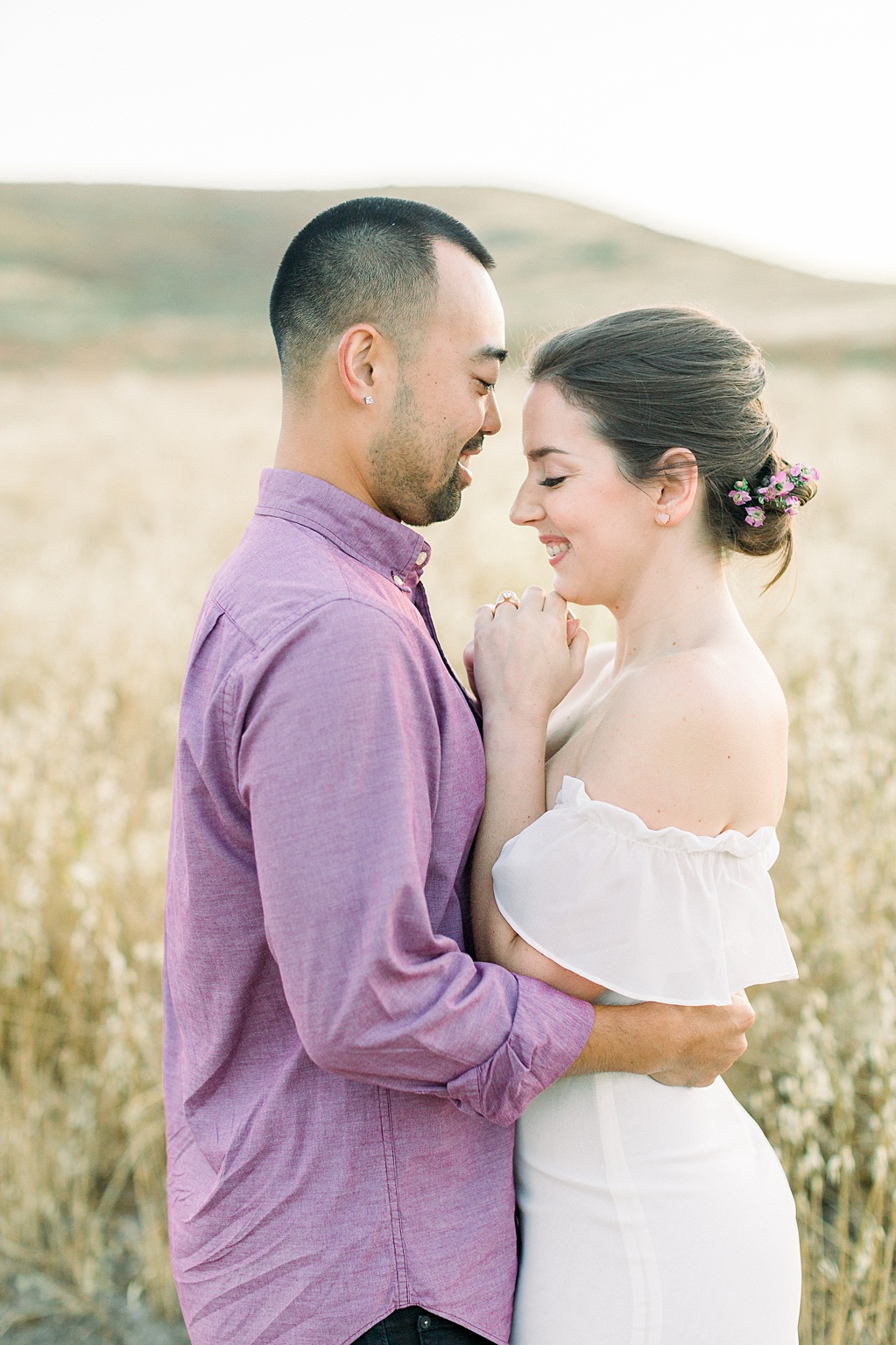 Rustic boho engagement session in Irvine California by Madison Ellis Photography (16)