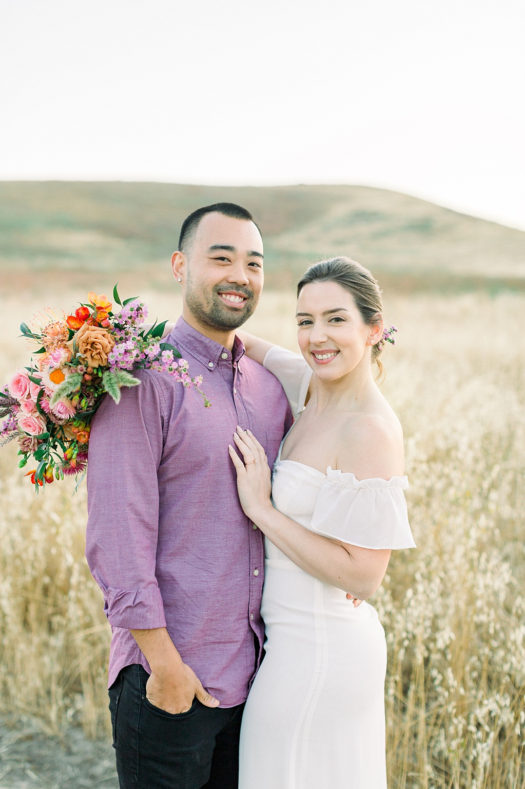 Rustic boho engagement session in Irvine California by Madison Ellis Photography (15)