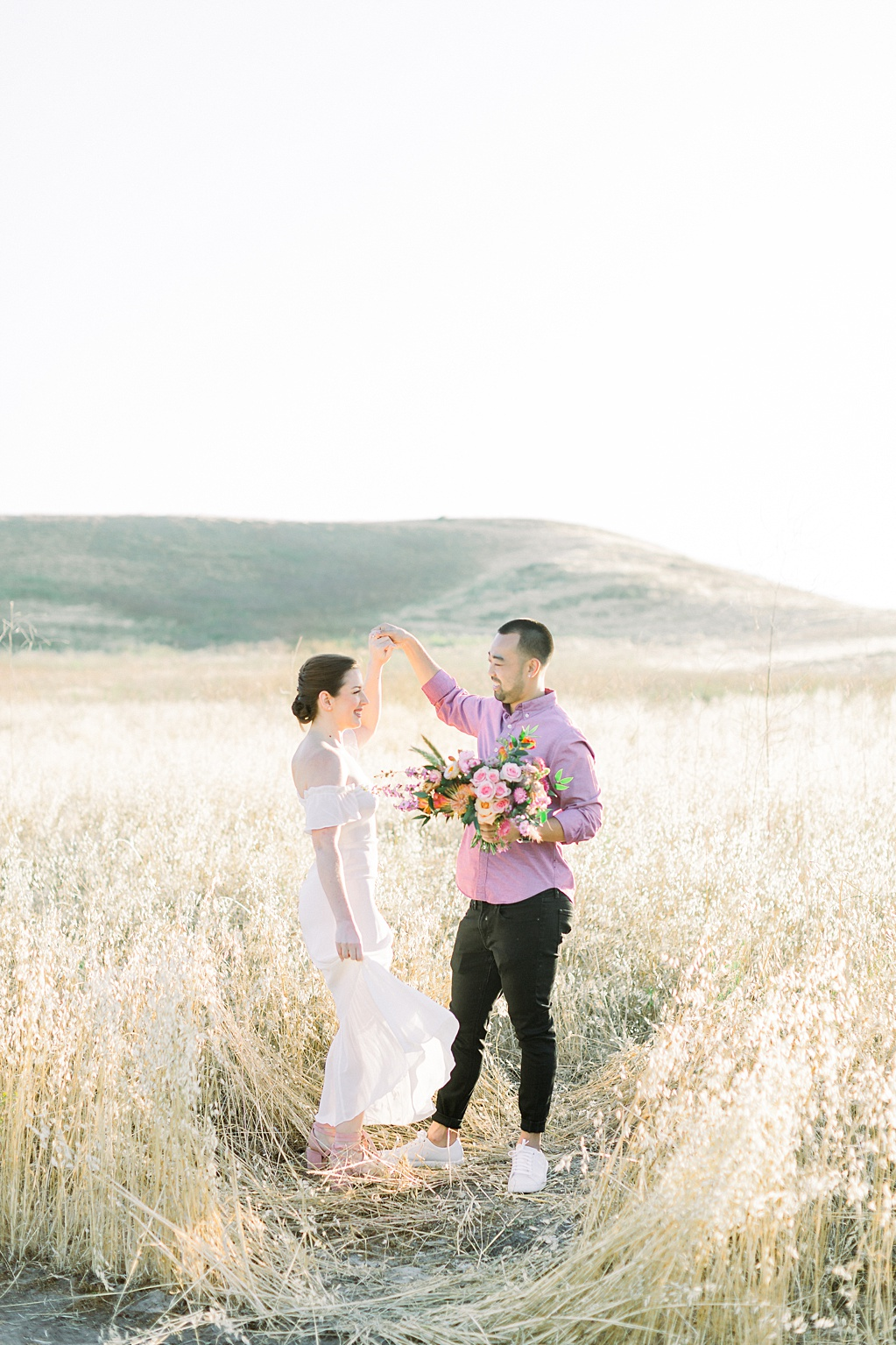 Rustic boho engagement session in Irvine California by Madison Ellis Photography (8)