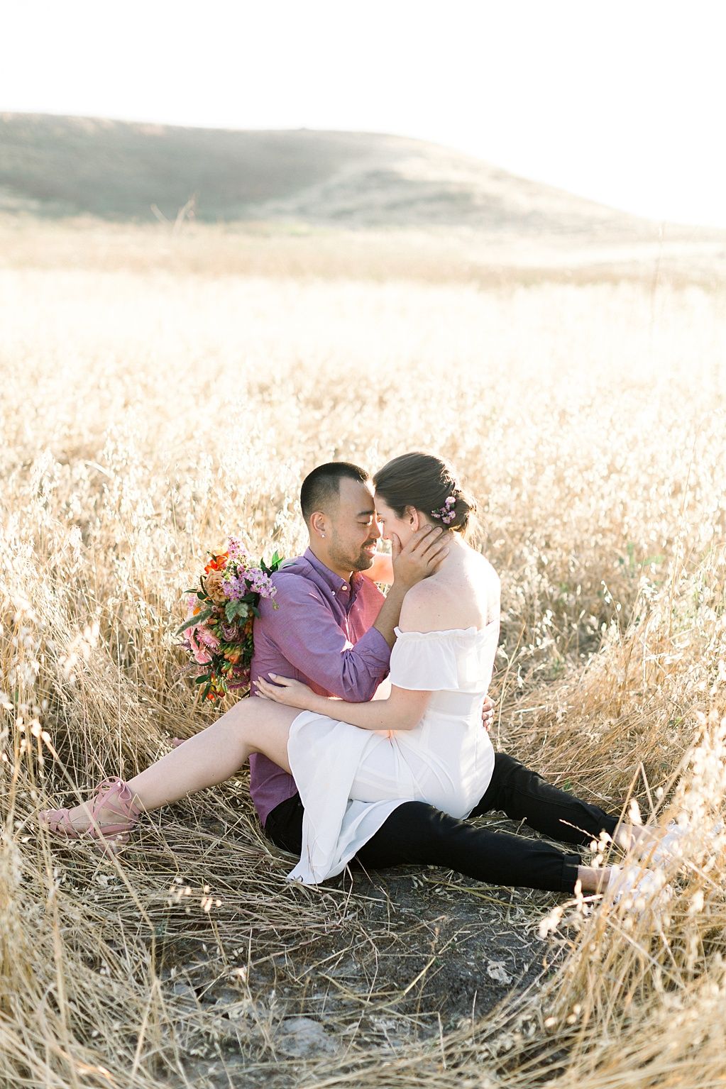Rustic boho engagement session in Irvine California by Madison Ellis Photography (5)