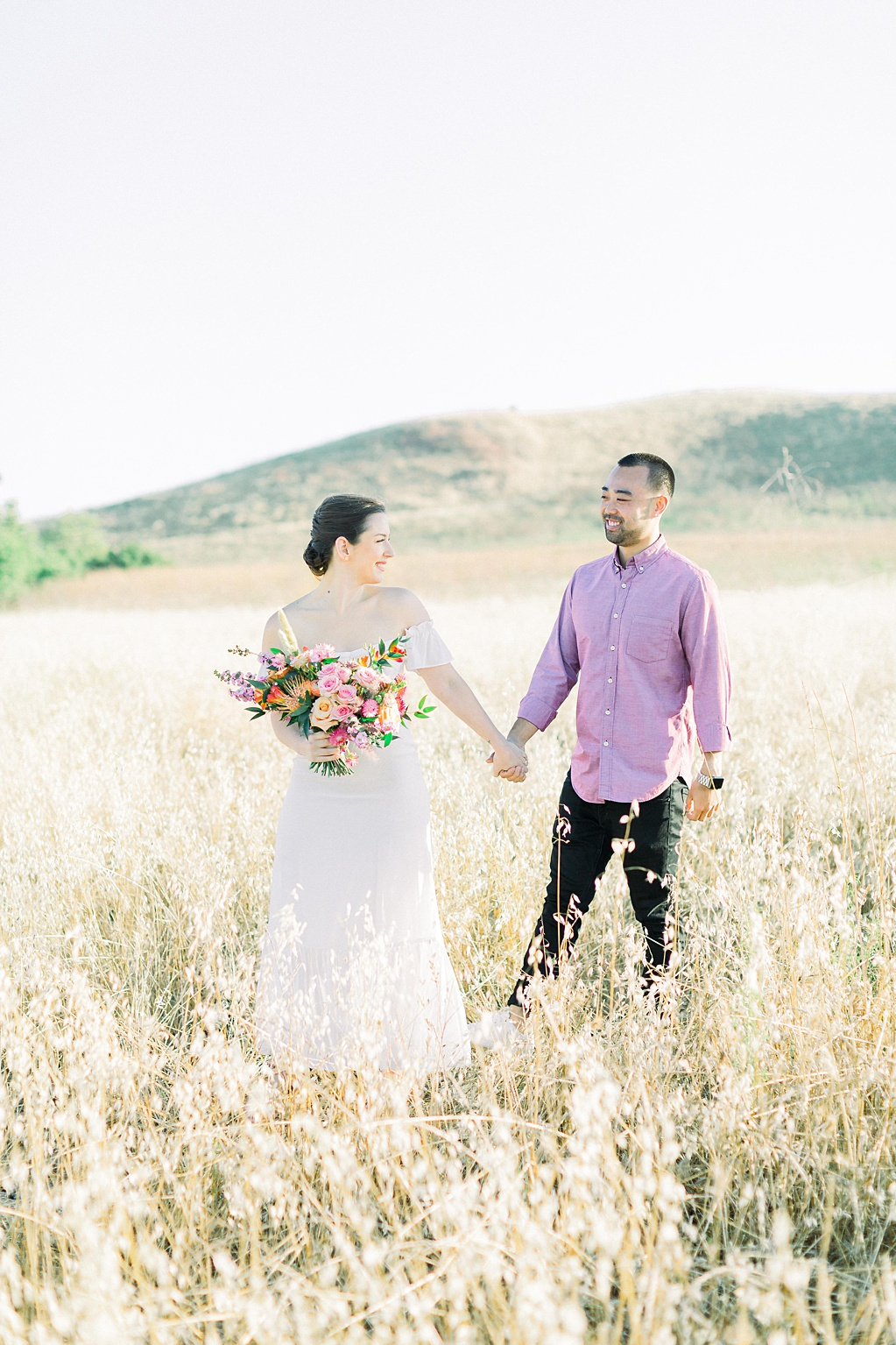 Rustic boho engagement session in Irvine California by Madison Ellis Photography (4)