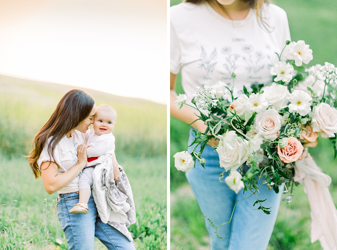 Wildflower inspired spring shoot by Madison Ellis Photography and Olive and Blooms (8)