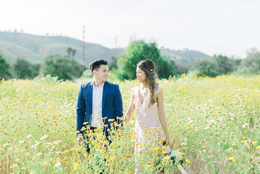 Film inspired engagement session at San Juan Capistrano Mission by Madison Ellis Photography (15)
