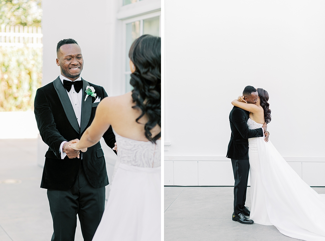 A modern luxurious African inspired fall wedding, in the Richard Nixon Library garden, Yorba Linda by wedding photographer Madison Ellis (97)