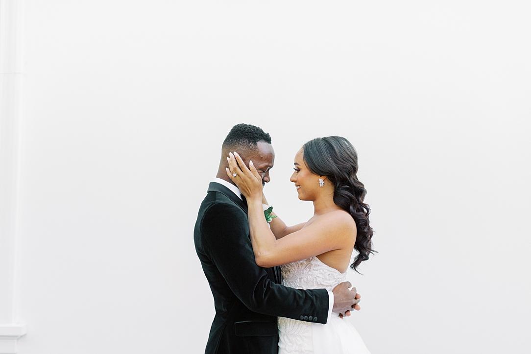 A modern luxurious African inspired fall wedding, in the Richard Nixon Library garden, Yorba Linda by wedding photographer Madison Ellis (96)