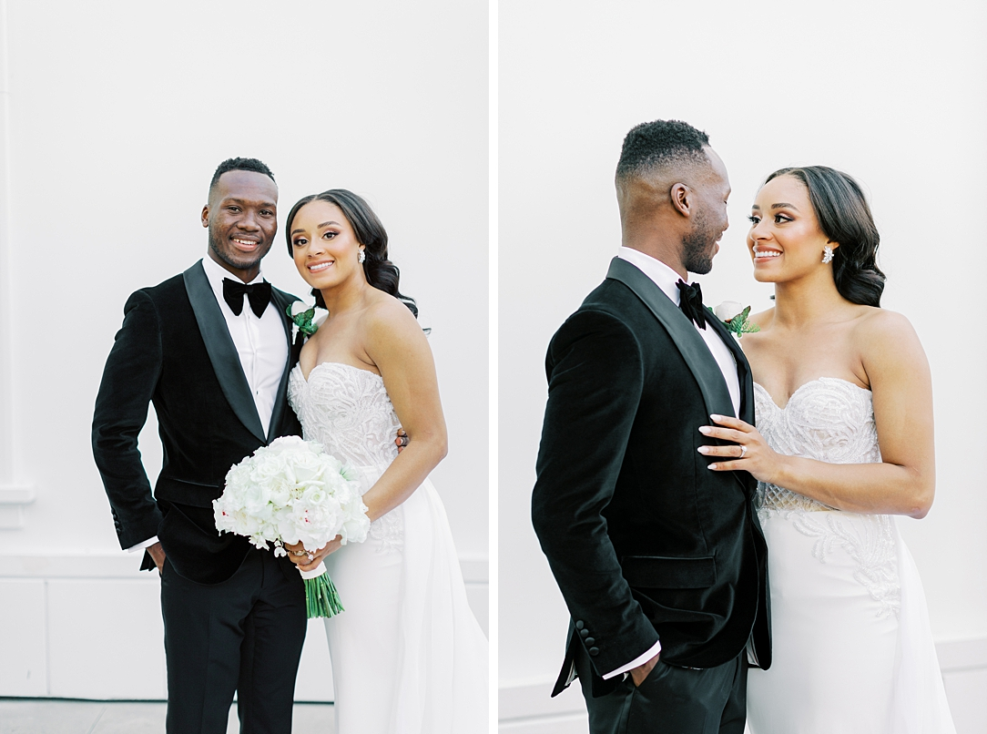 A modern luxurious African inspired fall wedding, in the Richard Nixon Library garden, Yorba Linda by wedding photographer Madison Ellis (89)