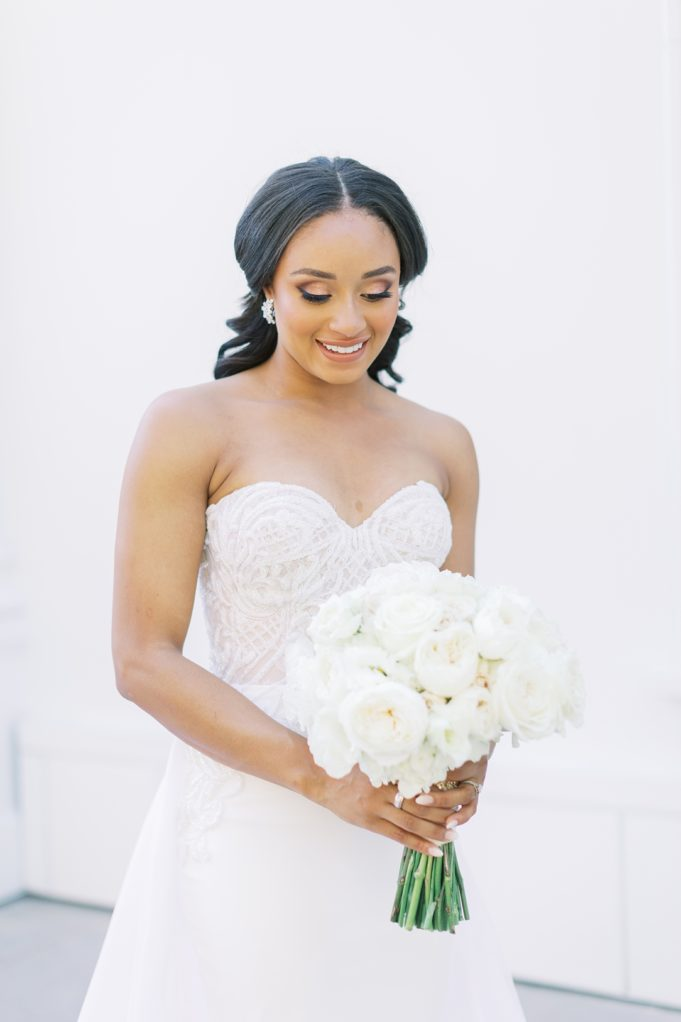 A modern luxurious African inspired fall wedding, in the Richard Nixon Library garden, Yorba Linda by wedding photographer Madison Ellis (78)