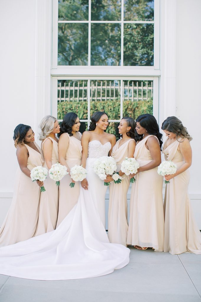 A modern luxurious African inspired fall wedding, in the Richard Nixon Library garden, Yorba Linda by wedding photographer Madison Ellis (67)