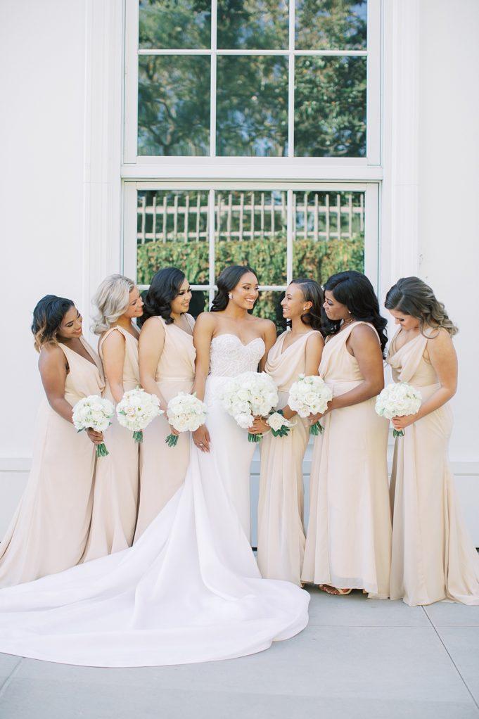 A modern luxurious African inspired fall wedding, in the Richard Nixon Library garden, Yorba Linda by wedding photographer Madison Ellis (67)