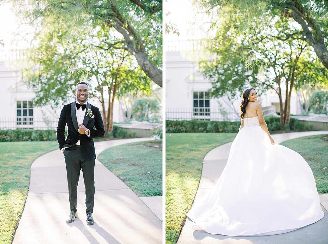 A modern luxurious African inspired fall wedding, in the Richard Nixon Library garden, Yorba Linda by wedding photographer Madison Ellis (8)
