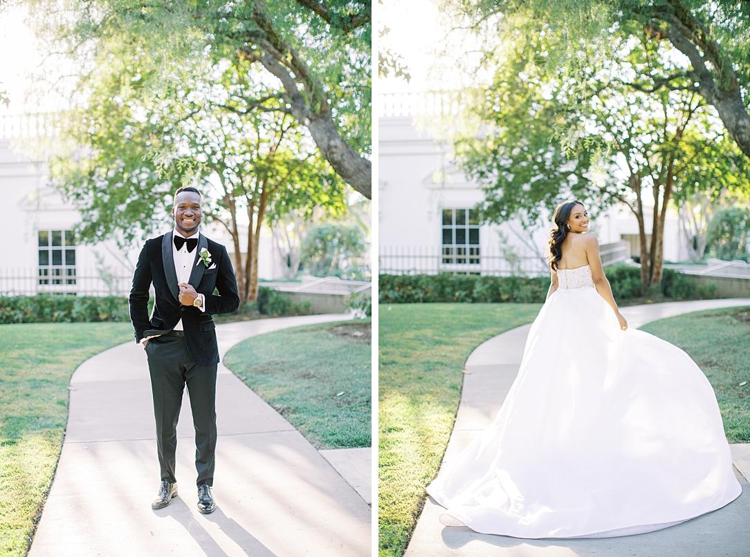 A modern luxurious African inspired fall wedding, in the Richard Nixon Library garden, Yorba Linda by wedding photographer Madison Ellis (8)