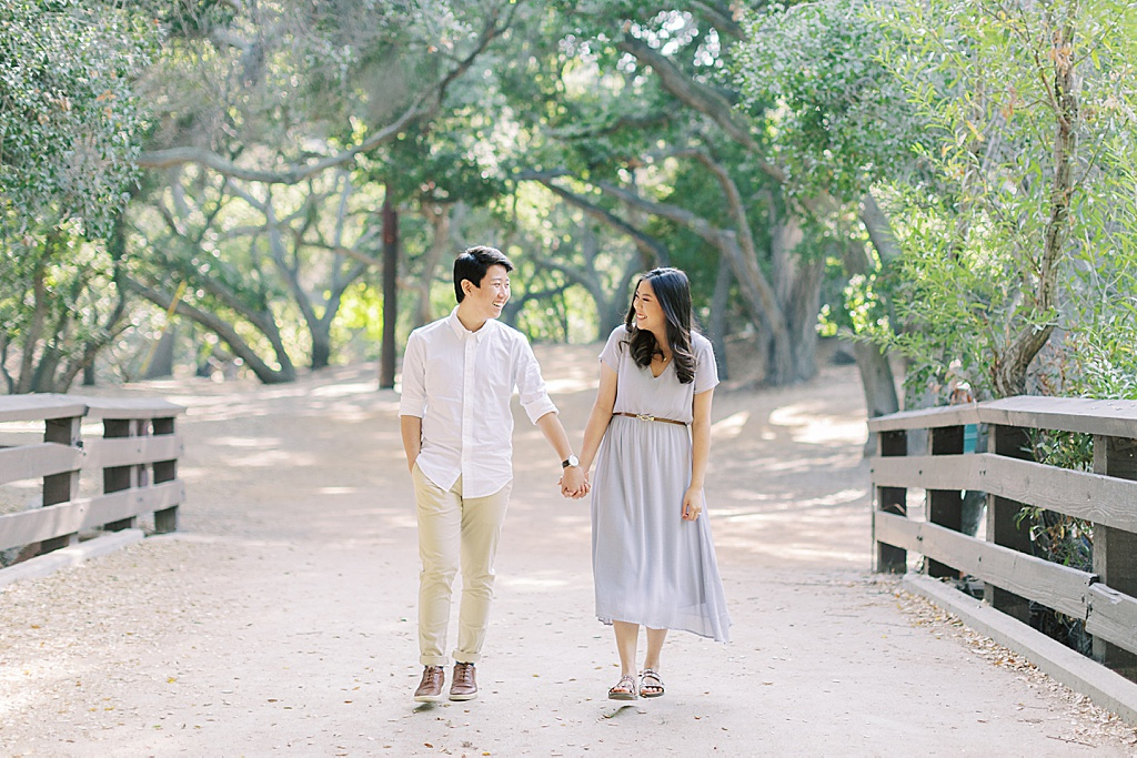 Organic and Natural Oak Canyon Nature Center Engagement Session By Madison Ellis Photography (22)