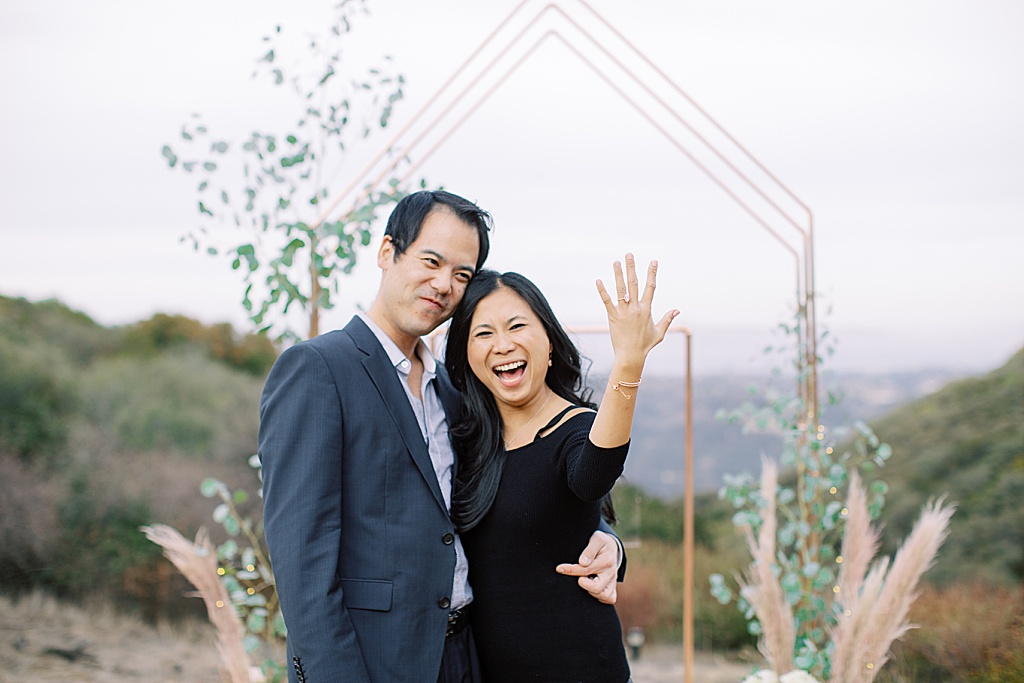 Frank & Cindys Airbnb Proposal In Topanga Canyon in with pavan florals by los angeles luxury wedding photographer Madison Ellis (7)