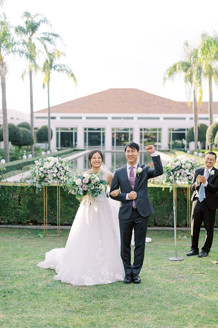 A mauve inspired wedding at the Richard Nixon library by Madison Ellis Photography (40)