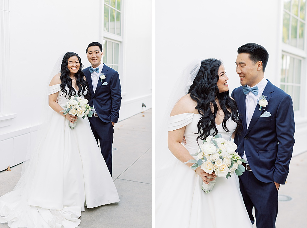 A dusty blue film-inspired wedding at the Richard Nixon Library by Madison Ellis Photography (102)
