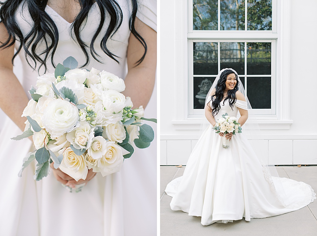 A dusty blue film-inspired wedding at the Richard Nixon Library by Madison Ellis Photography (90)