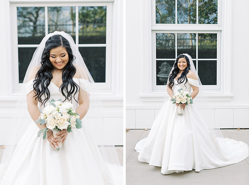 A dusty blue film-inspired wedding at the Richard Nixon Library by Madison Ellis Photography (79)