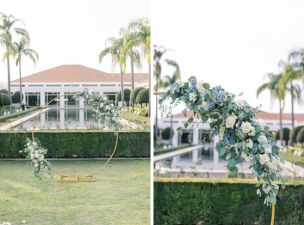 A dusty blue film-inspired wedding at the Richard Nixon Library by Madison Ellis Photography (74)