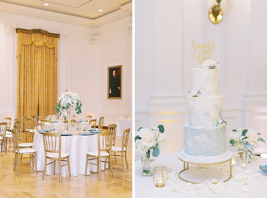 A dusty blue film-inspired wedding at the Richard Nixon Library by Madison Ellis Photography (47)