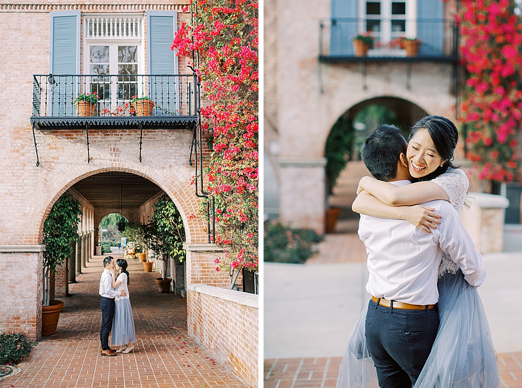 Spring engagement session at Malaga Cove Plaza by Madison Ellis Photography (3)
